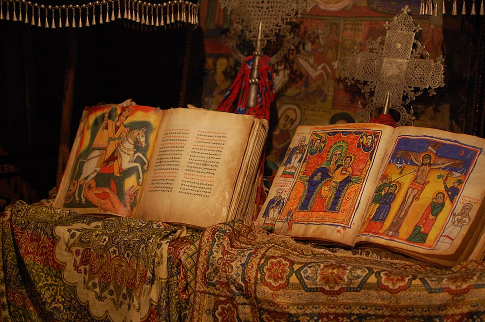 Books in the monastery museum (5494269533)