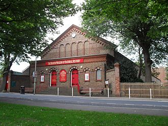 Prestonville, Brighton - The Booth Museum of Natural History dates from 1874.
