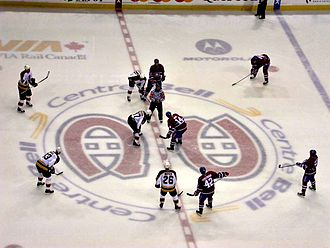 The Montreal Canadiens at the Bell Centre Boston vs. CH au Centre Bell 007.jpg