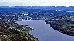 Botngård - Image: Botngård i Bjugn