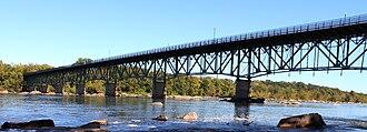 Boulevard Bridge - Boulevard Bridge from the south side of the James River