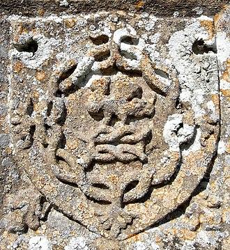 John Bourchier, 2nd Earl of Bath - Image: Bourchier Knot&Falcon Tawstock Church