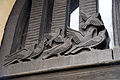 Bournville St Francis William Bloye tympanum birds closeup.jpg