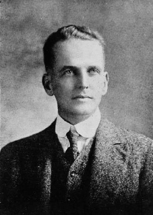 Boyd Chambers - Chambers pictured in Cincinnatian 1919, Cincinnati yearbook
