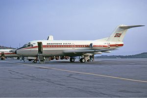 Braathens - Fokker F-28-1000 Fellowship in 1972