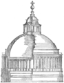Bramante's dome for St. Peter's, from Serlio (Character of Renaissance Architecture).png