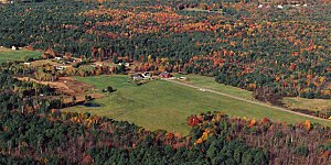 The Siemon Company - Aerial View of Branch Hill Farms