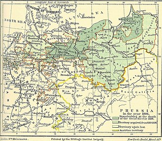 South Prussia - South Prussia in 1806
