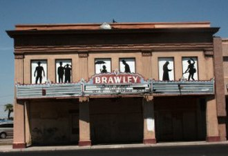 Brawley, California - Theater in Brawley
