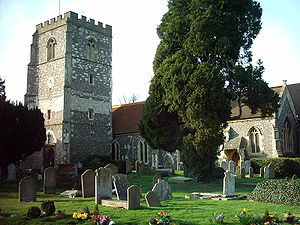 Bray, Berkshire - Image: Bray Church, Berkshire