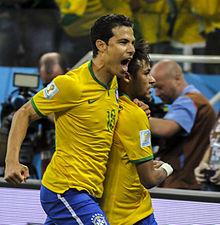 Hernanes e neymar in nazionale