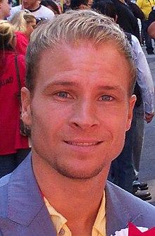Brian Littrell at Gay Paradae 2010 (cropped).jpg