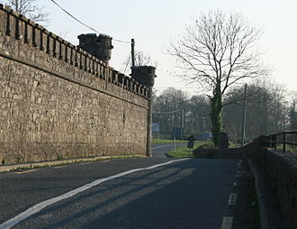 R363 road (Ireland) - R363 crossing the River Shevin at Ballynamore Bridge