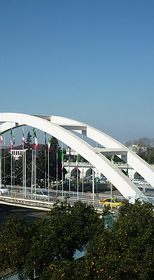 Amol County - Viwe two Amol Bridge Together