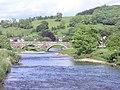 Bridge spanning R. Ribble at Sawley - geograph.org.uk - 1382134.jpg