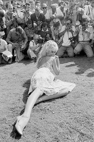 Brigitte Bardot - Brigitte Bardot during 1958 Venice Film Festival.