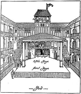 theatre in Elizabethan London