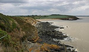 The Franklin's Tale - Rocky coast-Brittany