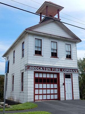 Schuylkill Township, Schuylkill County, Pennsylvania - Schuylkill Township. Fire Co. in Brockton.