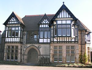 "Thomas Fielding Johnson - ""Brookfield"", Thomas Fielding Johnson's family home in Stoneygate, Leicester"