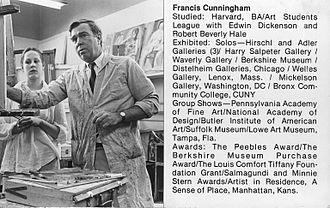 Brooklyn Museum Art School - Francis Cunningham teaching at the Brooklyn Museum Art School, ca. 1979