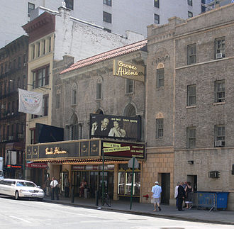 After Midnight (musical) -  The Brooks Atkinson Theatre where After Midnight is Performed