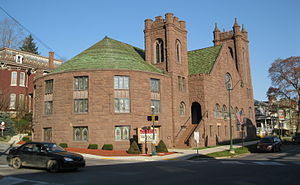 National Register of Historic Places listings in Jefferson County, Pennsylvania - Image: Brookville Presbyterian Church Nov 09
