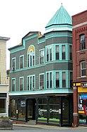 Brown Block, 1-5 Canal Street, Bellows Falls, Vermont