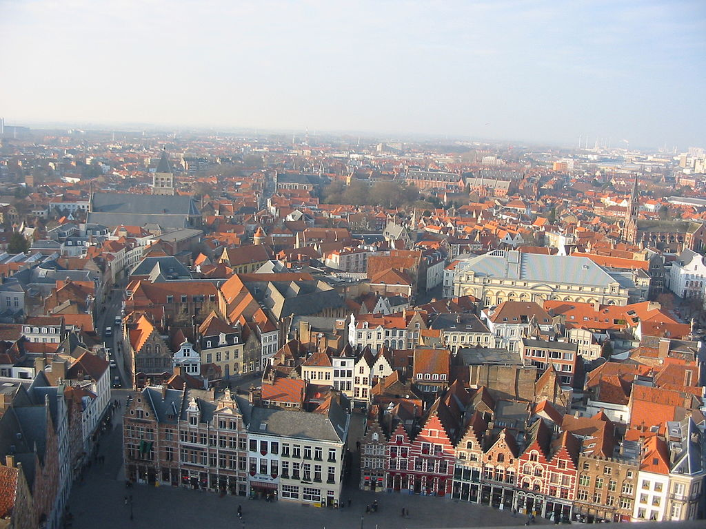 View of Bruges from the Belfry