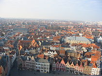 Bruges view from the belfry.JPG