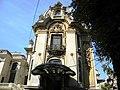 Bucuresti, Romania, Palatul Cantacuzino pe Calea Victoriei nr. 141, sect. 1, (parte laterala).JPG