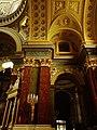Budapešť, katedrála svatého Štěpána, detail výzdoby.JPG
