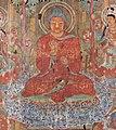 Buddha 8th-century painting on silk, Chinesischer Maler des 8. Jahrhunderts 001 (cropped).jpg