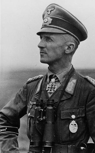 7th Panzer Division (Wehrmacht) - Hasso von Manteuffel commanded the division in 1943.