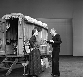 <i>Mother Courage and Her Children</i> 1939 play by Bertolt Brecht