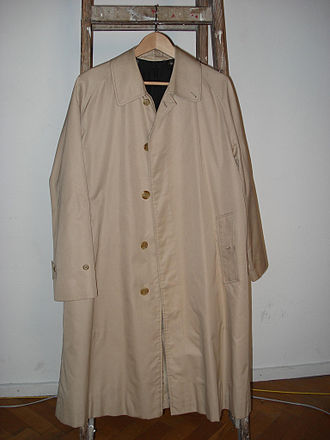 The Piano Teacher (film) - Burberry trench coats were selected for costumes.