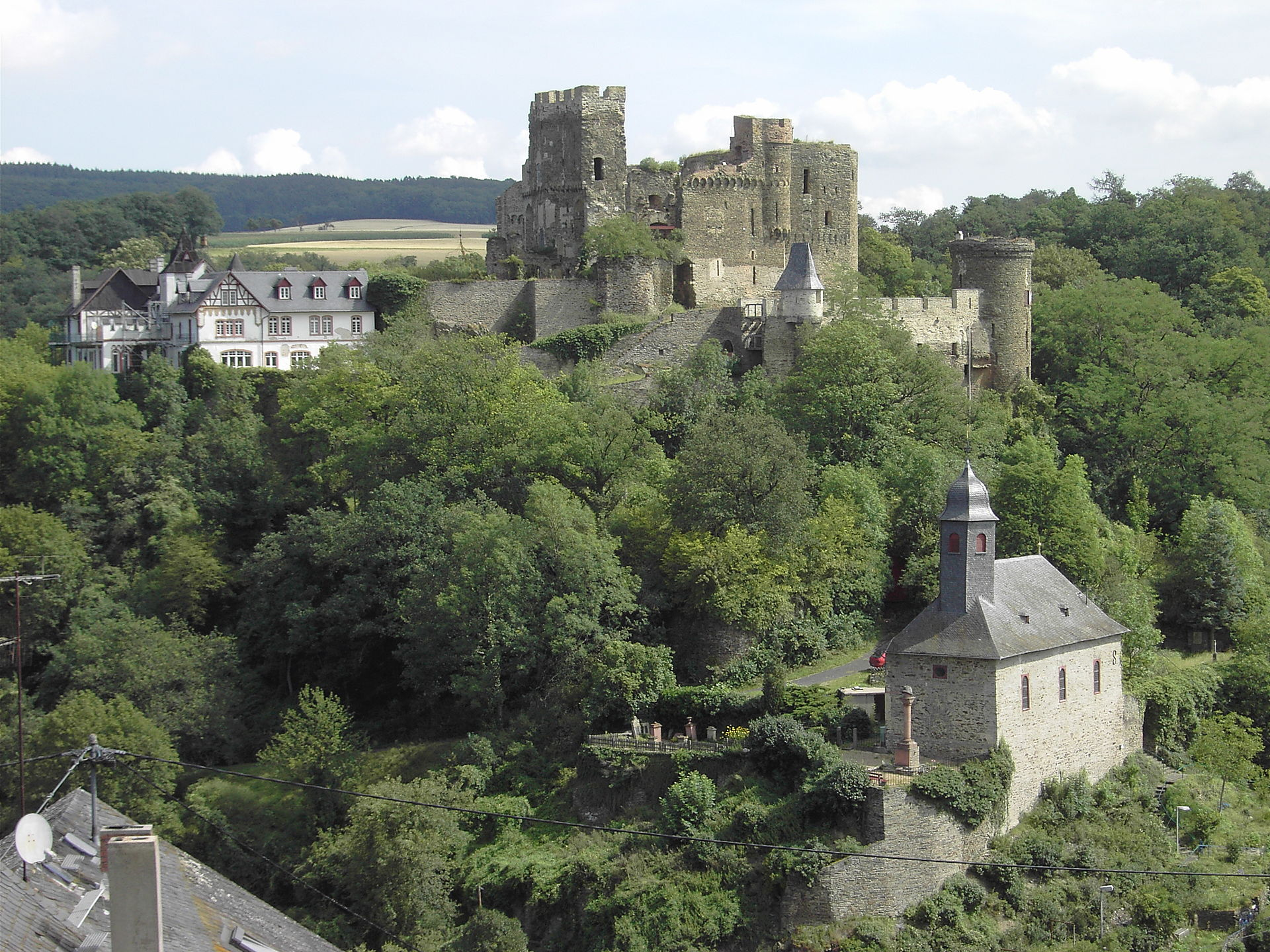 burg reichenberg rheinland pfalz wikipedia. Black Bedroom Furniture Sets. Home Design Ideas