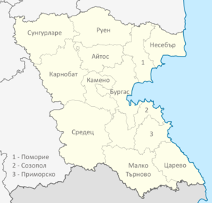 Burgas Oblast map.png