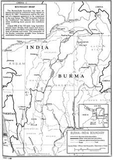 India–Myanmar border