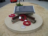 Burma Railway memorial Camden High Street 01.jpg