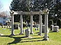 Burrowes Monument - Evergreen Cemetery.JPG
