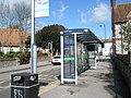 Bus shelter opposite St John's Church at Purbrook - geograph.org.uk - 732521.jpg