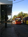 Buss and Bus stop - Khayyam - Nishapur 5.JPG