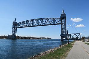 Buzzards Bay, Massachusetts - Buzzards Bay Railroad Bridge
