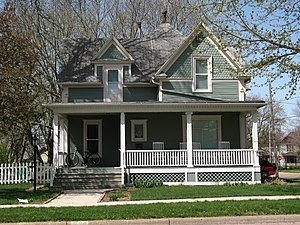 National Register of Historic Places listings in Lincoln County, South Dakota - Image: Byrnes House Canton SD
