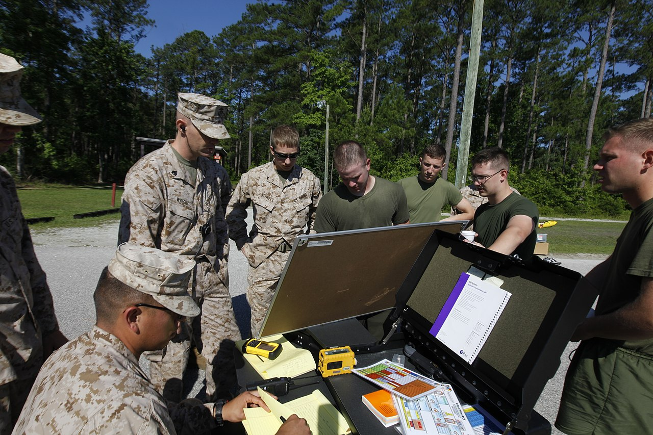 File:CBRN Marines respond to chemical warfare threat 130614