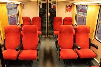 CFL Class 2000 - Image: CFL Class 2000 first class