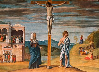 Christ on the Cross with the Virgin and Saint John the Evangelist