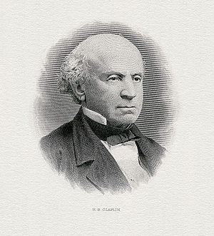 Horace Brigham Claflin - Image: CLAFLIN, Horace Brigham (engraved portrait)