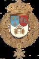 COA av Henrik III av Frankrike fra Samling av alle ridderne av Den hellige ånds orden.  1631.png